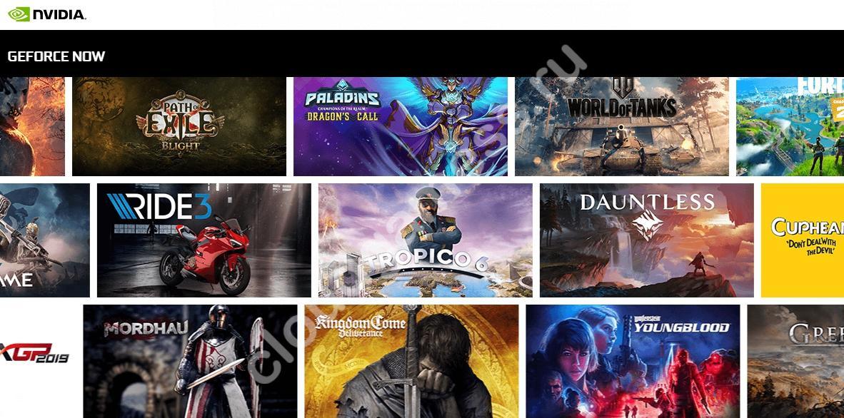 топ сайты для облачного гейминга
